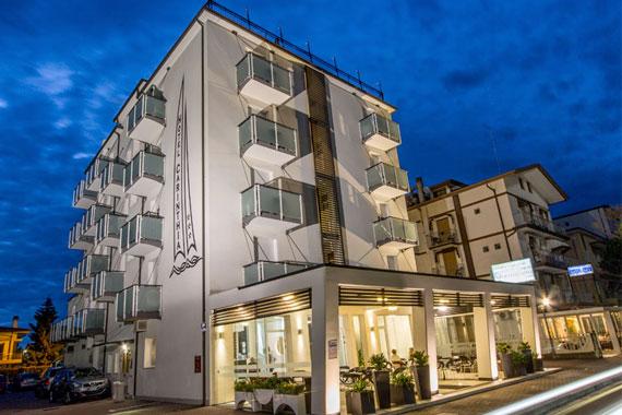 Stanza a Jesolo, Hotel Carinthia